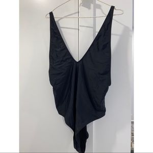 Missguided ultimate plunge swimsuit